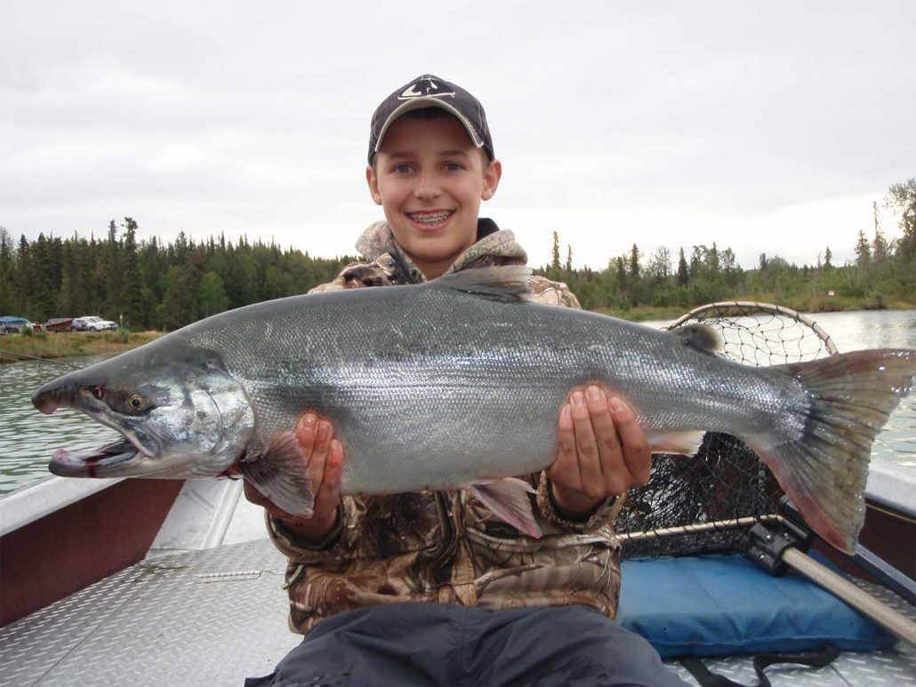 Alaska salmon fishing alaska salmon fishing guide for Alaskan salmon fishing